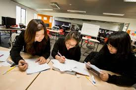 students having social studies tuition